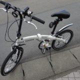 折りたたみ自転車「WACHSEN Weiβ BA-101」は快適だった!
