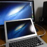MacBookの画面を外部ディスプレイに出力して快適に!