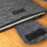 MacBook Air用のオシャレなケースを購入!コンパクトで持ち運びに便利!