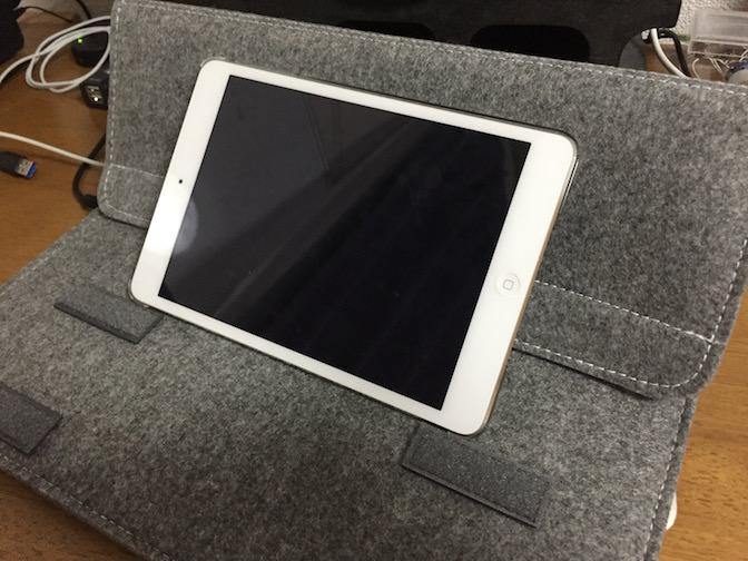 Inateck Macbook 13インチケース  iPadスタンド