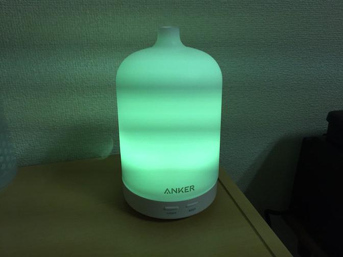 Anker エッセンシャルオイルディフューザー 緑